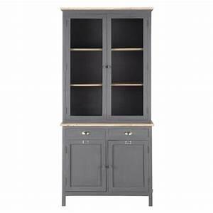 Maison Du Monde Vaisselier : vaisselier gris chablis maisons du monde ~ Preciouscoupons.com Idées de Décoration