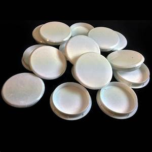 35mm white plastic hinge hole cover caps for kithcen With plastic hole covers for furniture
