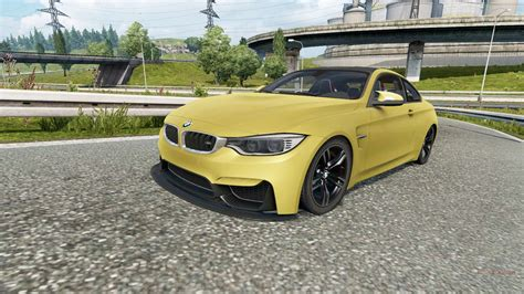 Bmw M4 Coupe Modification by Bmw M4 Coupe F82 V2 0 For Truck Simulator 2