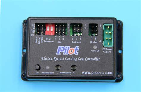 pilot rc electric retract landing gear controller manual
