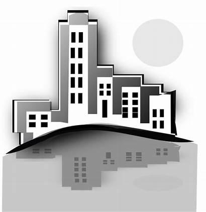 Estate Clipart Building Commercial Buildings Clip Property