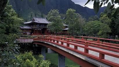 Japanese Architecture Japan Buildings Bridge Traditional Bridges