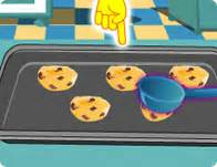 chocolate chip cookies cooking games