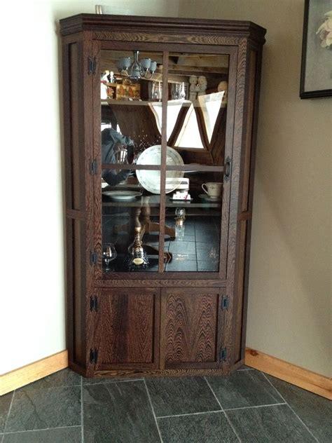 custom corner display cabinet  owryen interiors