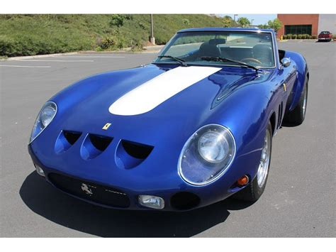In may 2012 the 1962 250 gto made for stirling moss became the world's most expensive car in the history, selling in a private transactio. 1962 Ferrari 250 GTO For Sale   GC-16162   GoCars