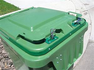 Residential Poly Cart Containers Bear Smart Durango