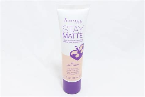 Rimmel Stay Matte rimmel stay matte liquid mousse foundation in light ivory