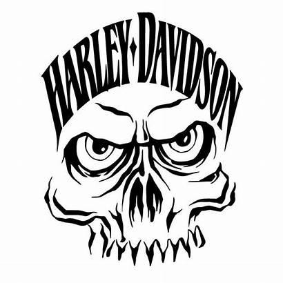 Harley Davidson Skull Decal Monster Sticker Decals