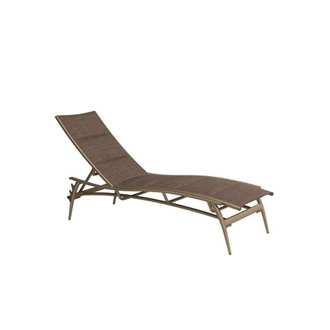 chaise discount tropitone 189932ps echo padded sling chaise lounge