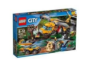 Jungle LEGO City Sets