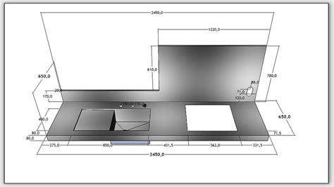 plan de travail cuisine grande largeur norme hauteur plan de travail cuisine fabulous agrandir