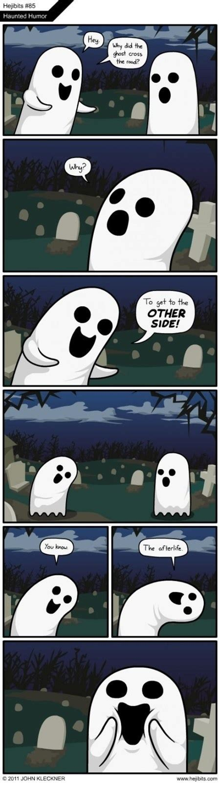 ghost jokes funny the witching hour