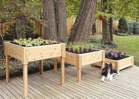 It Wouldn't Be Too Hard To Make These Elevated Garden
