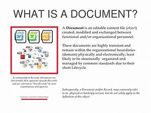 sbs 102 document vs records With my documents vs documents