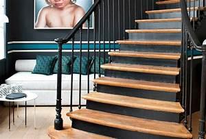 comment peindre une cage descalier haute chambre enfant With amazing couleur pour une cage d escalier 1 aide pour la deco et la couleur des murs couloir et cage