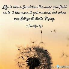 Life Is Like A Dandelion   Quotes & Writings By Sudhanshu Balapurkar Yourquote