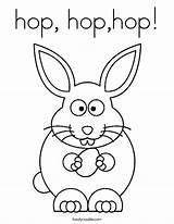 Coloring Pages Hop Way Bunny Hip Easter Worksheet Dancer Printable Sheet Print Dance Template Noodle Hophop Twistynoodle Built California Usa sketch template