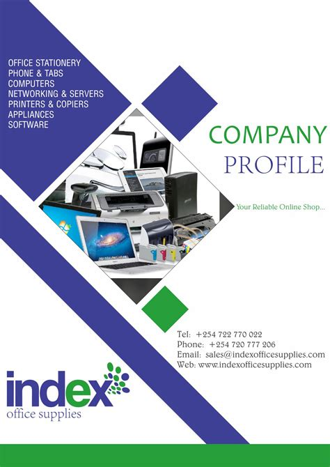 Office Supplies Companies by Profiles Brochure Index Office Supplies Company Profile