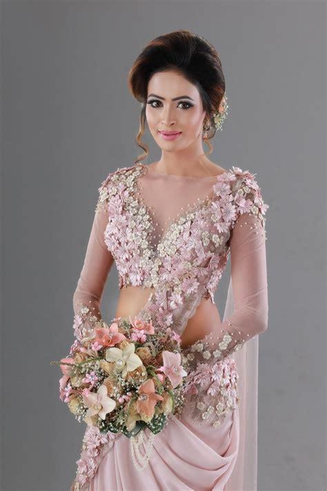 sri lankan bride saree bs saree gown saree dress