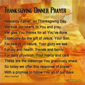 Thanksgiving Prayers and Quotes