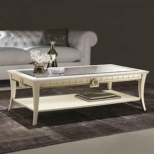 Tavolino da salotto di stile classico Scarlatti ARREDACLICK