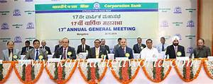 Corporation Bank Holds 17th Annual General Meeting of the ...