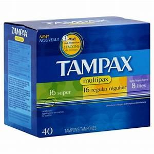 Tampax Tampons Multipack Super  Regular  U0026 Lite With