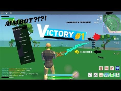 solo arsenal roblox hack script  aimbot esp speed fly