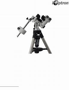 Ioptron Telescope Zeq25gt User Manual