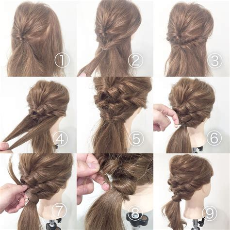 cute easy hairstyles for thin hair hairstyles for women