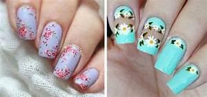 Floral nail art designs ideas spring nails modern