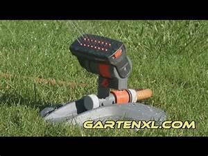 Gardena Bewässerung Erfahrungsberichte : gardena zoommaxx bew sserung mit rasensprenger gardena zoommaxx youtube ~ Orissabook.com Haus und Dekorationen