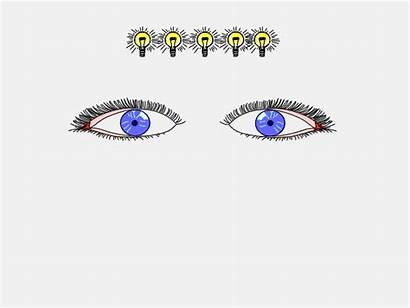 Eye Pupil Animated Contents Table