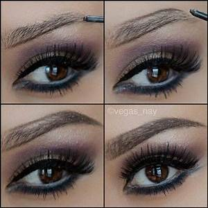 never thought to draw a outline for thicker brows #brows # ...