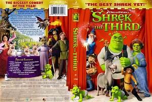 Shrek The Third - Movie DVD Scanned Covers - SHREK THE ...