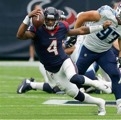 Houston Watson Deshaun Texans Titans Football Nfl