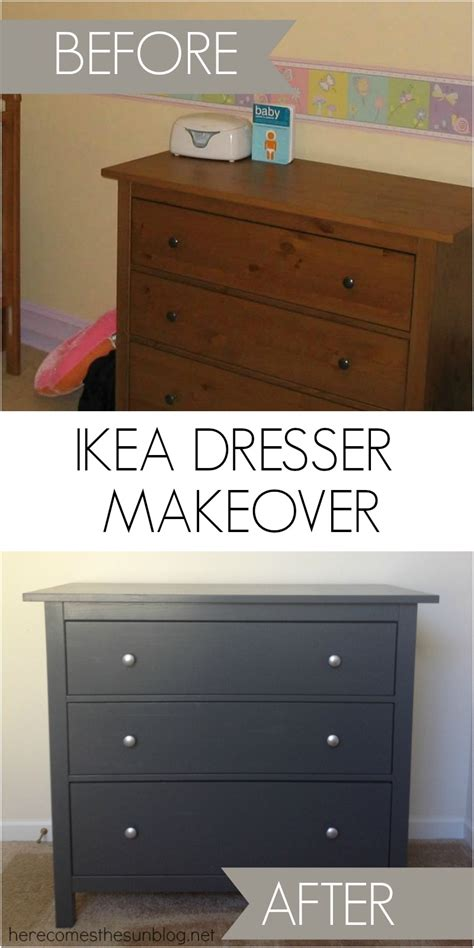 Ikea Nightstand Makeover by Ikea Dresser Makeover Here Comes The Sun
