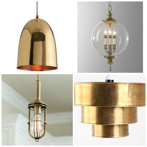 Rosa Beltran Design Brass Pendant  Ceiling Light Round Up