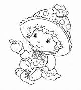 Strawberry Shortcake Coloring Printable Sheet Cartoon Characters Friends Cake Colouring Angel Blossom Orange Worksheet Sheets Adults Template Number Uncategorized Boys sketch template