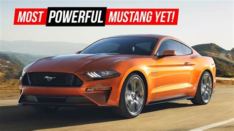 2018 Ford Gt Specs by 2018 Mustang Gt Specs And Price