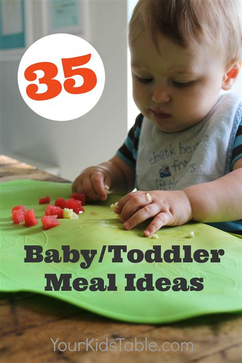 The Ultimate List Of Babytoddler Meal Ideas Your Kids