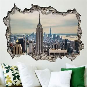 Wall Mural Photo Large New York Sunrise Scene Wallpaper ...