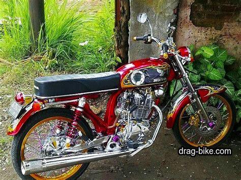 Motor Cb Clasik by 50 Foto Gambar Modifikasi Honda Cb 100 Klasik Style
