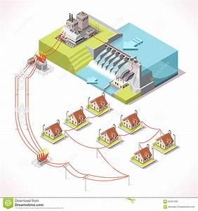 Energy 14 Infographic Isometric Stock Vector