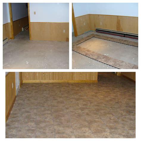 Diy Basement Floor Tiles Diamond Black Made In Usa Ebay
