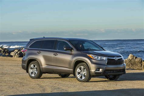 2016 Toyota Highlander Offers Price, Fuel Economy Choices