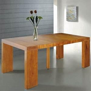 Table Console Extensible : table console extensible natura en bois massif achat vente console extensible table console ~ Teatrodelosmanantiales.com Idées de Décoration