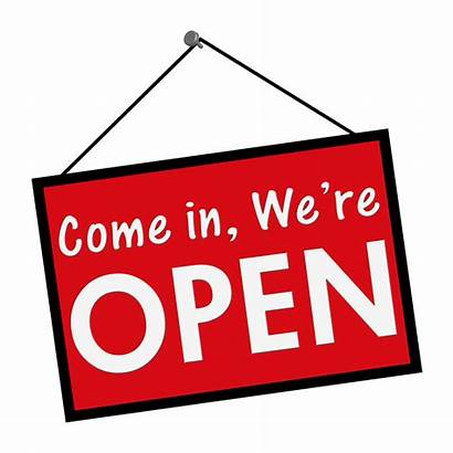 Open Sign Come Clipart Credit Union Words