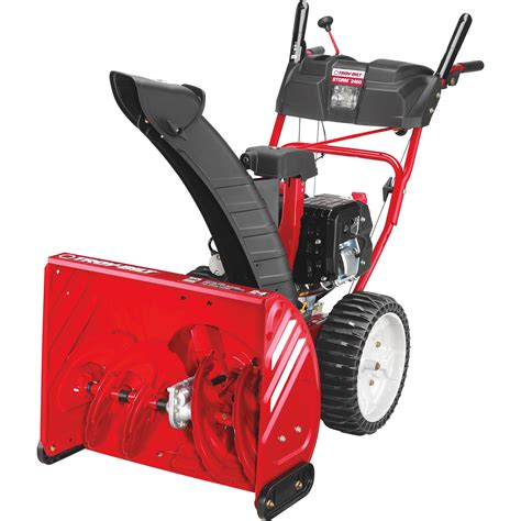 Troy-Bilt 2-Stage Electric Start Snow Blower with Airless ...