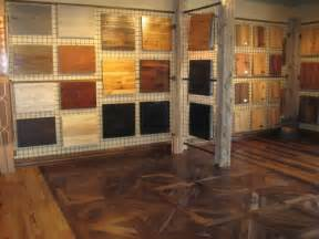 always visit a showroom before selecting wood floors
